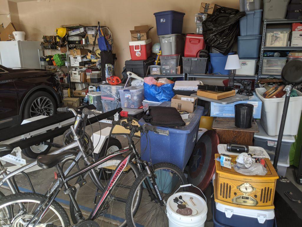 Cluttered Garags